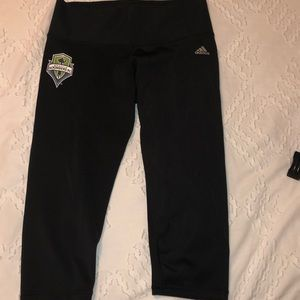 Seattle Sounders Adidas Leggings
